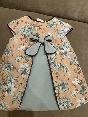 Baby Girls Spanish Romany Dolce Petit Dress Vgc 18 Months