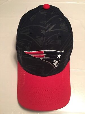 New Era 39thirty Stretch Fit Cap Hat, New England Patriots, Medium-Large