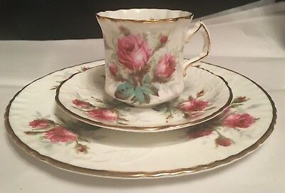 Hammersley - Grandmother's Rose - 3 piece set