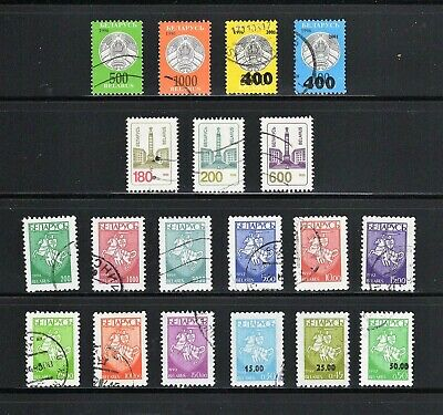 Belarus -- 19 diff used definitives from 1992-2001 -- cv $7.75
