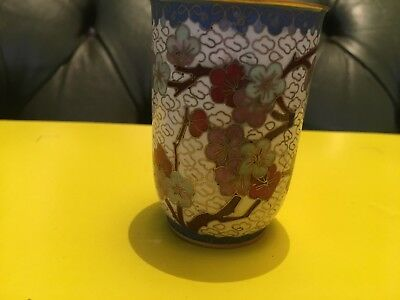 Antique Chinese Cloisonne Pot