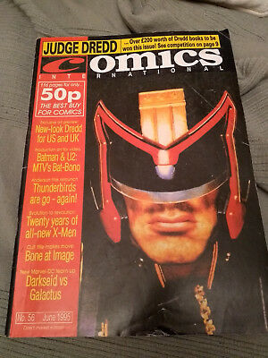 UK Quality Communications Comics Internatonal 56 June 1995 95 Dez Skinn