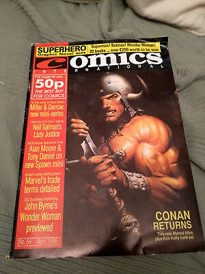UK Quality Communications Comics Internatonal 54 April 1995 95 Dez Skinn