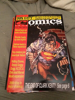 UK Quality Communications Comics Internatonal 51 February 1995 95 Dez Skinn