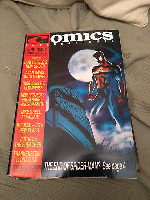 UK Quality Communications Comics Internatonal 50 January 1995 95 Dez Skinn