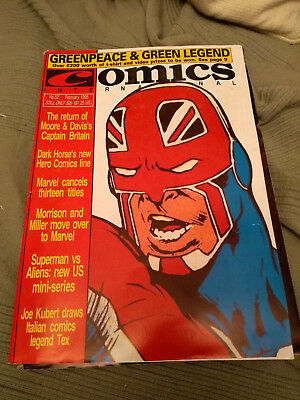 UK Quality Communications Comics Internatonal 52 February 1995 95 Dez Skinn