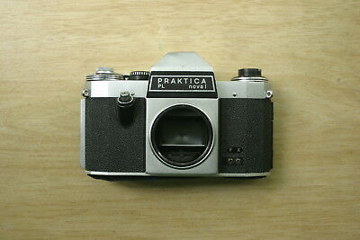 Praktica PL nova I 35mm SLR film camera body *working*