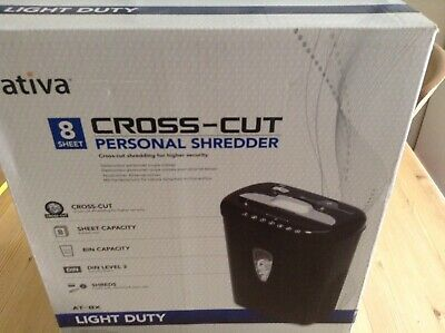 Ativa Cross Cut Shredder