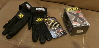 Mechanix Wear Team Issue Carbon X gloves Size 9/M and Heat Sleeves