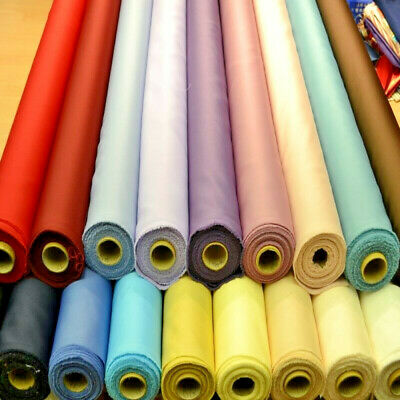 19 Colours DUCHESS BRIDAL SOFT SATIN prom wedding dress fabric material 150cm
