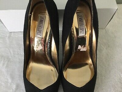 JLO JENNIFER LOPEZ Womens High Heel Pumps Size 10 Black