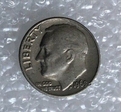 1969 - One Dime Coin - American / Usa - President Roosevelt