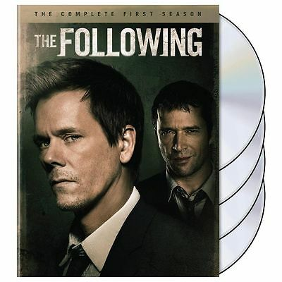 Brand New The Following The Complete First Season 1 Kevin Bacon James Purefoy