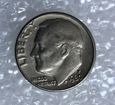 1980 - One Dime Coin - American / Usa - President Roosevelt