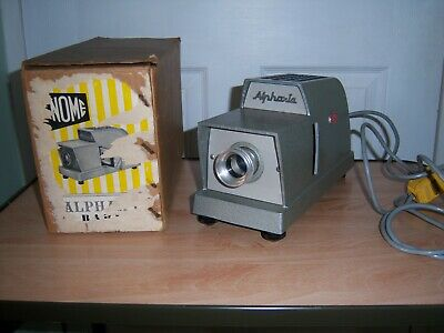 Vintage Gnome Alphaxi Baby 35 mm Projector