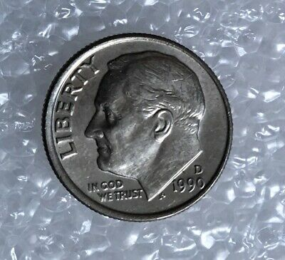 1990 - One Dime Coin - American / Usa - President Roosevelt