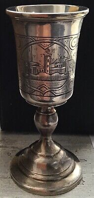 Russian Antique Silver Vodka Cup/goblet 84
