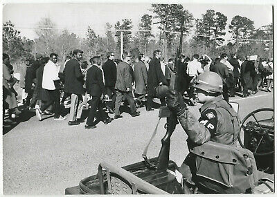Paul CONKLIN: Civil Rights, Selma, 1965 / PIX Agency / PC-19 / VINTAGE / STAMPED