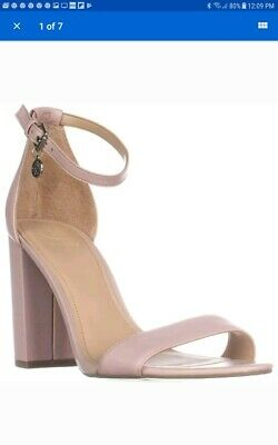 96cf65cae00 Nwob Guess Bamboo Ankle Strap Heeled Sandals