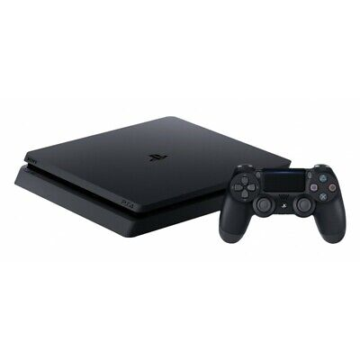 Sony - Playstastion PS4 Slim 500GB - Chassis Black - Audio/Video e TV #0755