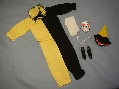 Vintage 1963 KEN Barbie Doll MASQUERADE Outfit—NEAR COMPLETE
