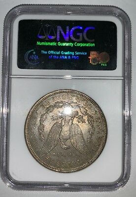 1921 S$1 NGC Silver Morgan Dollar MS63 Uncirculated Condition Mint State #7014