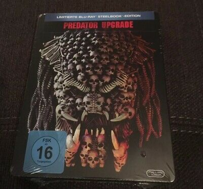 Predator Upgrade - Blu Ray Steelbook Neu/OVP