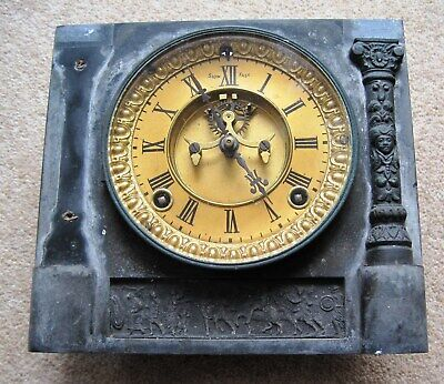 Ansonia Clock Face And Parts