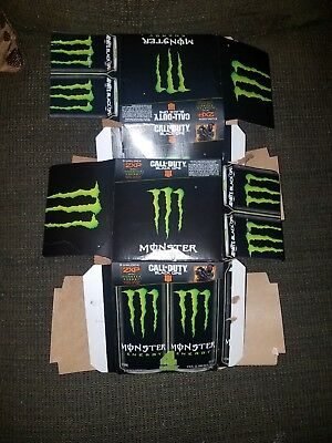 CALL OF DUTY Black Ops 4 DOUBLE XP Code For 2 Hours Monster Energy Box