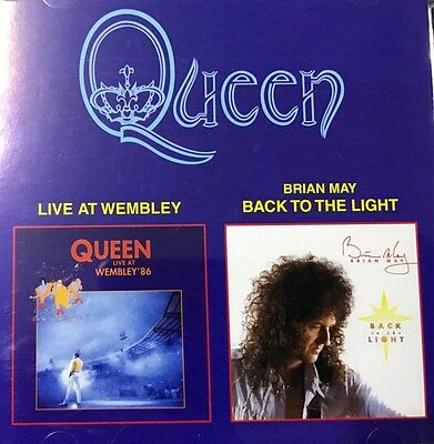 QUEEN/BRIAN MAY- LIVE AT WEMBLEY 86+BACK TO THE LIGHT - 2CD  special russia edt