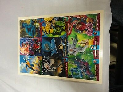 0d6c0aabcd2 FLEER ULTRA X-MEN Trading Cards Promo Small 9-Card Handout NM 1994 Marvel