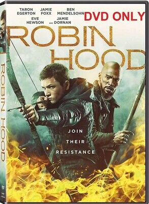 ROBIN HOOD (2018) DVD ONLY * Pre-order* Ships On 2/19/2019*FREE SHIPPING!