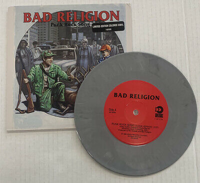 Bad Religion Punk Rock Song Limited Edition 7-87079 Vinyl 9.0, Sleeve 9.0