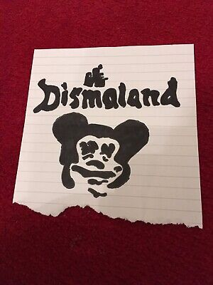 Banksy Dismaland Hand Drawn Flyer