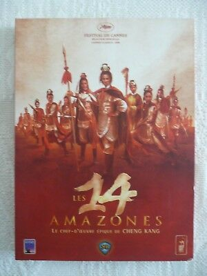 """DVD Shaw Brothers """"Les 14 Amazones"""" Edition 2 DVD - Comme neuf"""