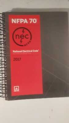 NFPA 70: National Electrical Code 2017 (Spiral-bound)