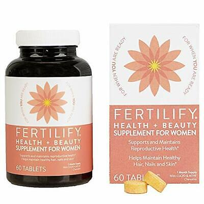 Women's Chewable Reproductive Health Supplement for Faster Conception (90 Tabs)