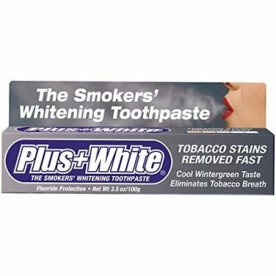 Smokers' Whitening Toothpaste Helps Remove Tough Stains & Discoloration - 3.5oz