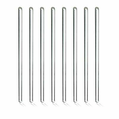 Solid Glass Stirring Rod Great for Mixing Chemicals and Liquids (8 Pack) 12 Inch