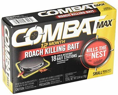 Powerful Home Cockroach Killer Bait - Kills Non Stop Up to 12 Months (18ct)