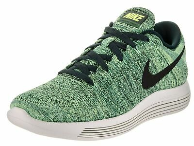 3d117fc70632 NIKE MENS LUNAREPIC Flyknit Running Shoes Grey White Size 10.5 ...