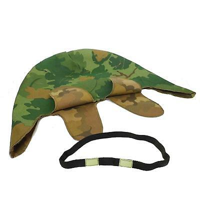 Vietnam War Us M1 Mitchell Reversible Military Helmet Cover With Eye Strap Od