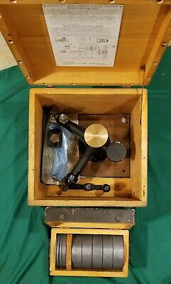 ASHCROFT Type 1300 Dead Weight Gauge Calibration & Tester Set Military Steampunk