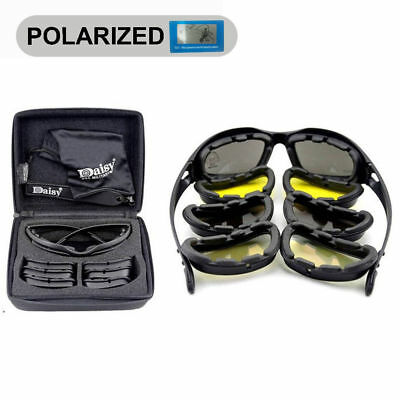 094fc2bd5a Daisy X7 Military Tactical Goggles Sunglasses Polarized Lenses Glasses Army
