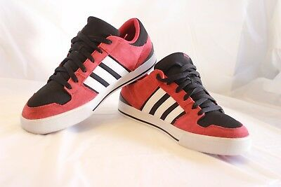 ADIDAS NEO LABEL Shoes Men's Size 9.5 Athletic Sneakers Black Red ...