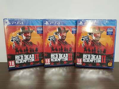Red Dead Redemption 2 II Ps4 Playstation Brand New And Sealed FAST DISPATCH