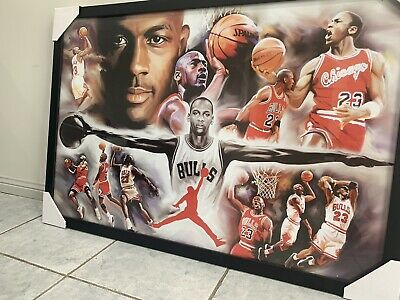 Michael Jordan - Last Shot - NBA - Chicago Bulls - Basketball Poster