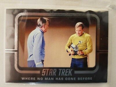 Star Trek  TOS CAPTAINS COLLECTION  WHERE NO MAN HAS GONE BEFORE W52  ODDS 1:8