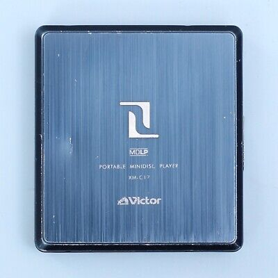 Victor XM-C17 MiniDisc MD Player (Blue) *SOLD AS IS UNTESTED*
