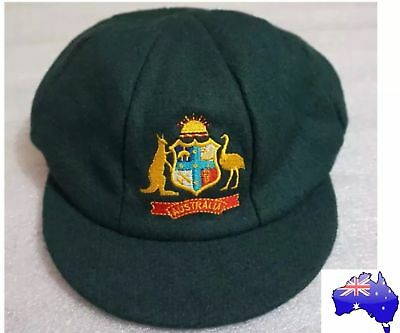 Australia Baggy Green Cricket Cap - NEW - One size Fits All